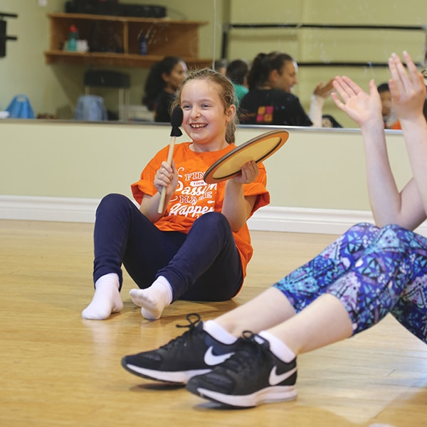 students from dance ability movement dance program at jcb danceworks in richmond hill