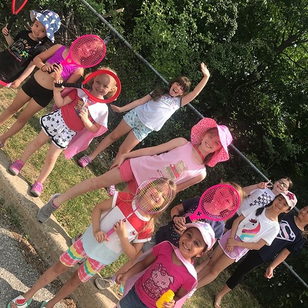 summer camp students outdoor play at jcb danceworks in richmond hill