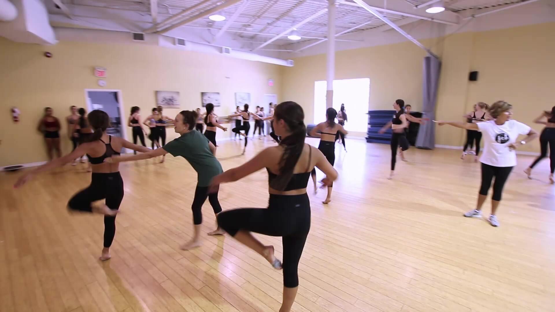 ballet dancers doing turns