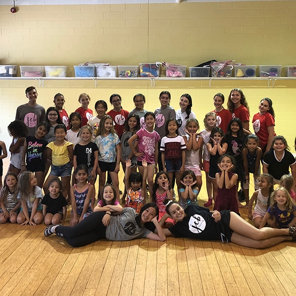 summer camp students at jcb danceworks in richmond hill